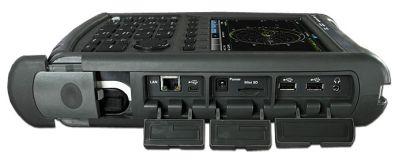 N9912A FieldFox. Вид сбоку